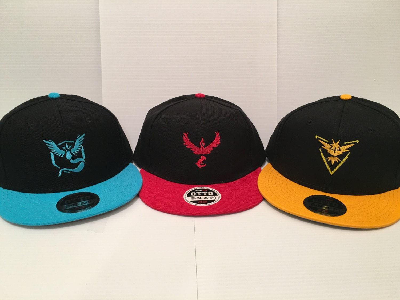Pokemon Go Pokemon Go Team Hats Valor Hat Mystic Hat Instinct