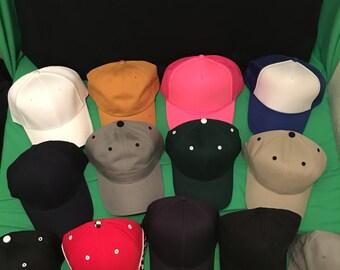 Embroidered hats, custom hats, discount hats, personalized hats, baseball hat, flex fit hat, custom embroidered hat, Team hat, Team logo hat