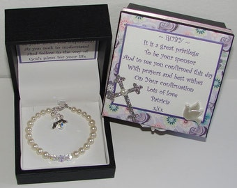 First Holy Communion bracelet