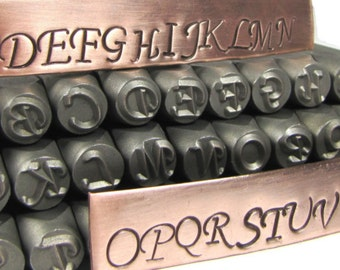 Add a 10MM Hand Stamped Initial or Number to your jewelry