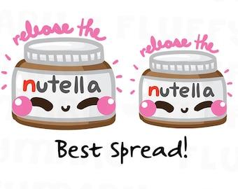 Nutella || Planner Stickers, Cute Stickers for Erin Condren (ECLP), Filofax, Kikki K, Etc. || DPS190