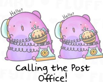 Call Sprinkles || Planner Stickers, Cute Stickers for Erin Condren (ECLP), Filofax, Kikki K, Etc. || STB49