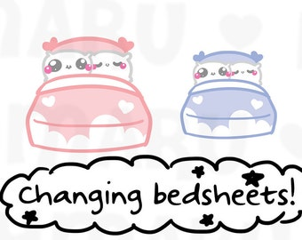 Bed    Planner Stickers, Cute Stickers for Erin Condren (ECLP), Filofax, Kikki K, Etc.    DPS11