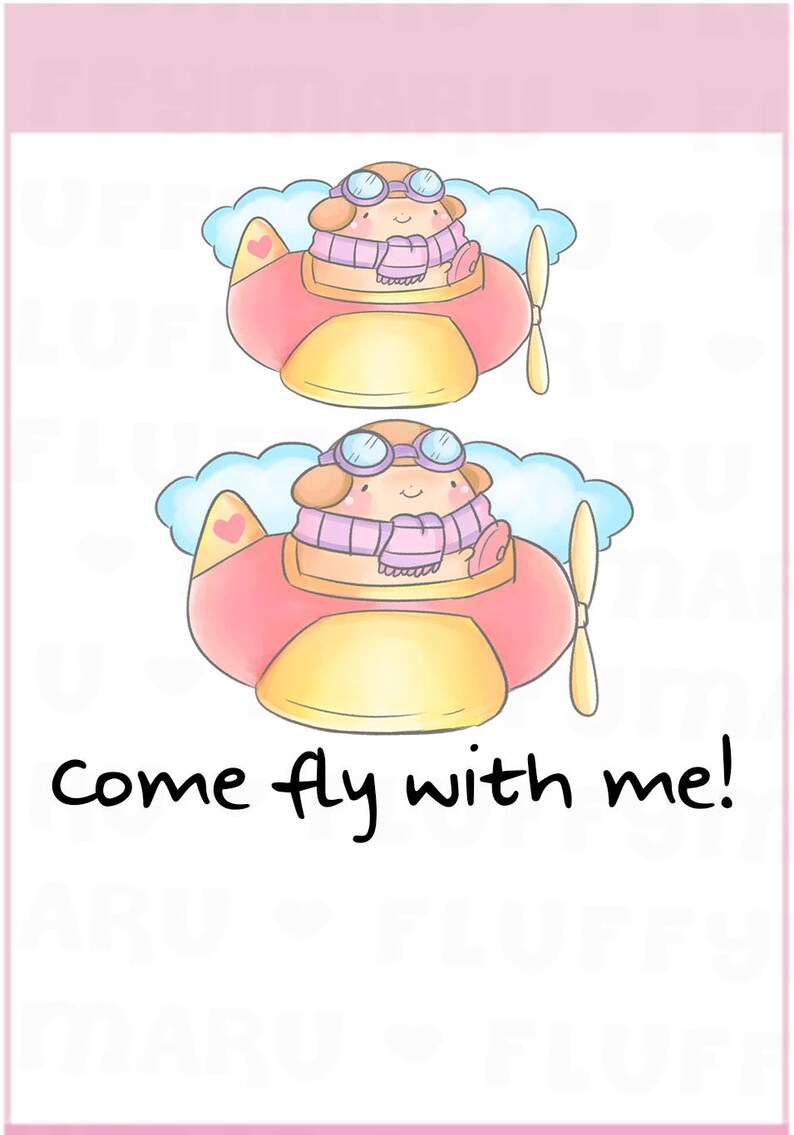 Airplane Sprinkles  Planner Stickers Cute Stickers for Erin image 0