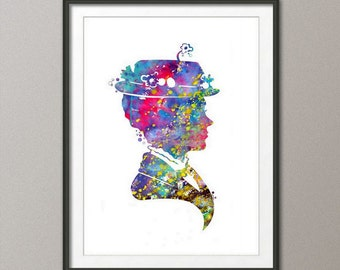 Digital Download,Mary Poppins Print, Mary Poppins Decor, Disney print, Mary Poppins Art, Mary Poppins Wall Art, Disney Nursery Art