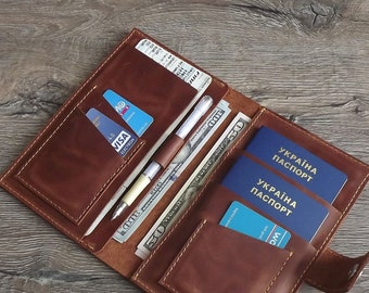 2db9ddfa6 Family passport holder Passport holder Leather passport 3