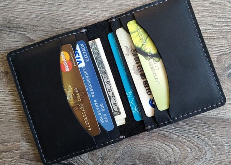 1758ea77602f5 Minimalistische WalletWalletLeather WalletPersonalized