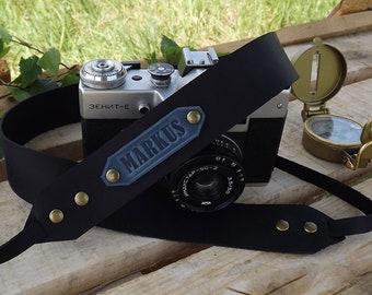 Leather Camera Strap, Camera Strap,Personalized camera strap leather, Gift for Photographer/Canon camera strap/Nikon camera strap