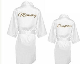 52edcfa0d98 Mommy and Me - Christmas Gift for Mother and Daughter - Set of 2 Robe -  Mother and Daughter Robes - Mother s Day Gift - Unique Mother s Gift