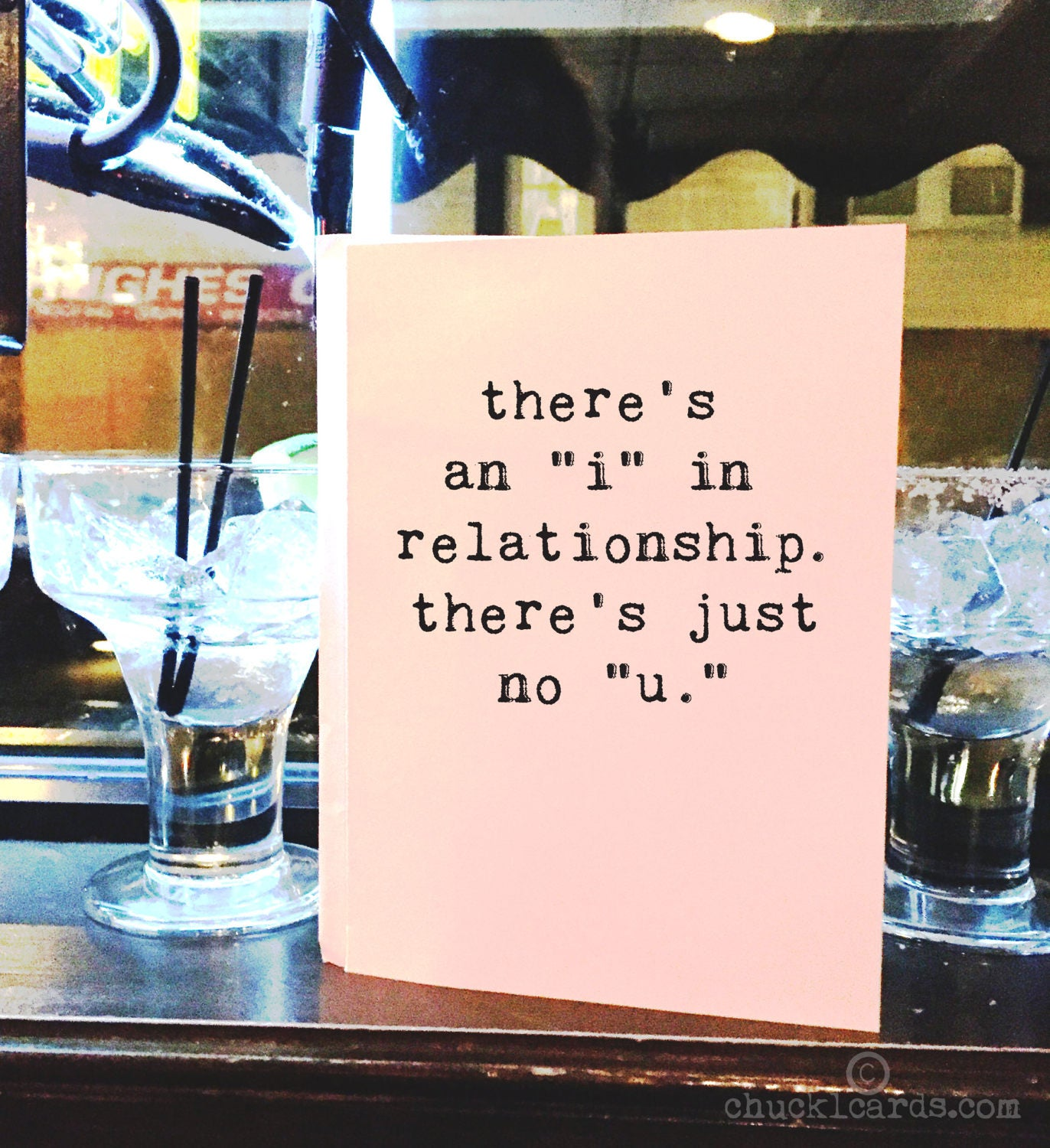 Theres no i in relationship greeting cards breakup card funny theres no i in relationship greeting cards breakup card funny card wholesale friend card card for him card for her love card m4hsunfo