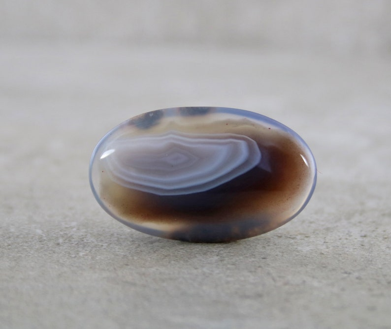 Small Loose Stone Cabochon Botswana Agate Cabochon Affordable DIY Jewelry Stone