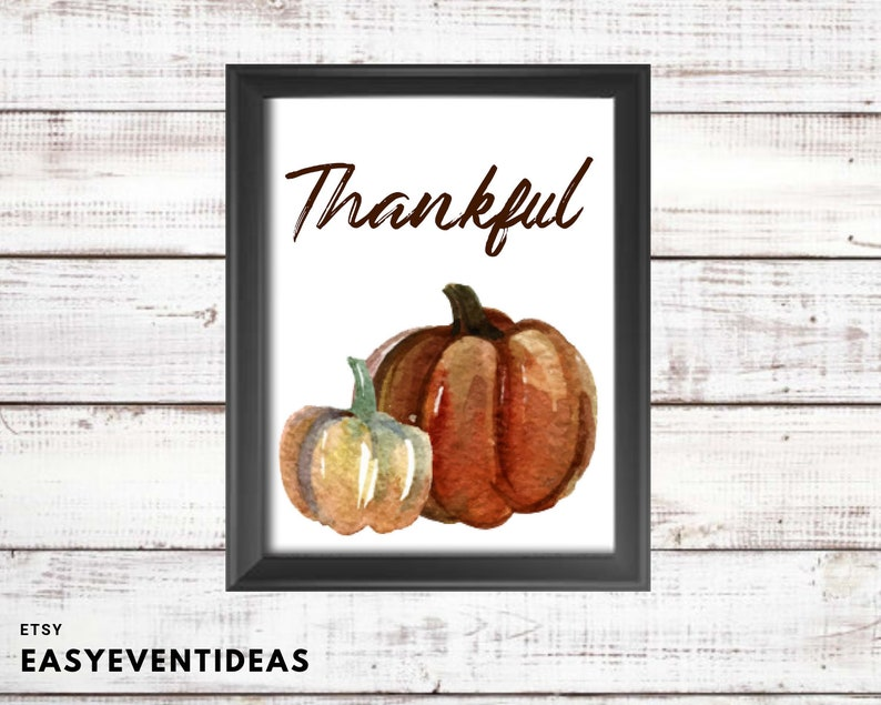 picture about Closed for Thanksgiving Sign Printable identified as Grateful Pumpkin Signal Printable Obtain Thanksgiving Printable Obtain
