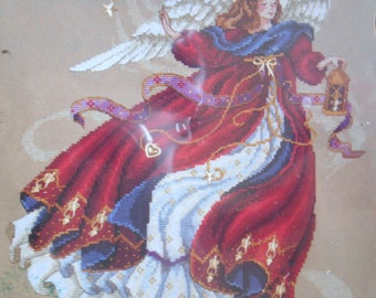 Dimensions Angel of Christmas Counted Cross Stitch Kit 8436 Laine Gordon New