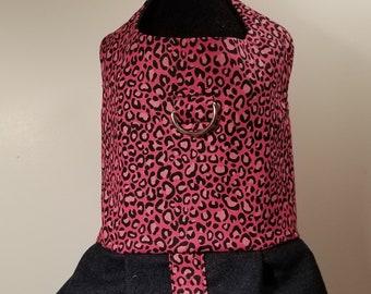 Hot Pink Animal Print Dress