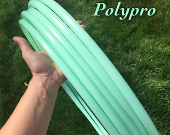 PRE-ORDER only (ships 6/27) Mint 5/8 polypro hula hoop