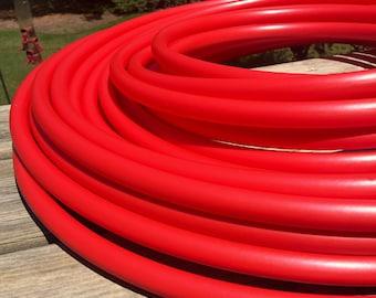 PRE-ORDER only (ships 6/27) HDPE 3/4 Ferrari red hula hoop