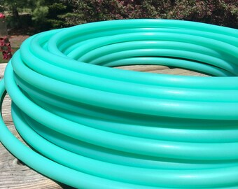 PRE-ORDER only (ships 6/27) HDPE Caribbean Breeze hula hoop 5/8 and 3/4