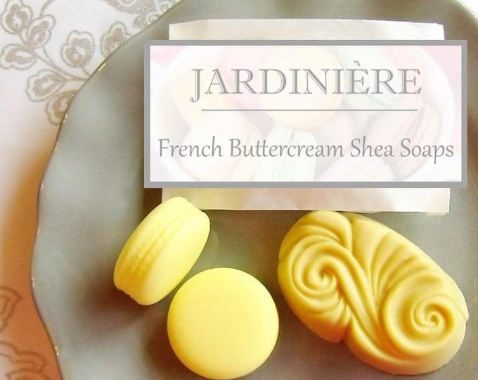 French Buttercream Shea Soap//ChocolateMint, LemonVanilla, PassionFruit, Raspberry, AppleCaramel, BlackCherry, LimeCoconut, Stocking stuffer