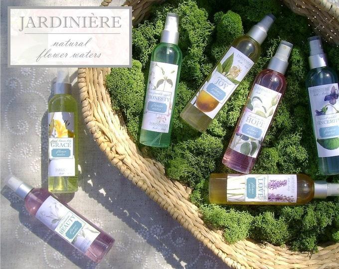 Natural Flower Water // Lemon Lily, Grapefruit, Heirloom Rose, Honeysuckle Apple, Lavender Vanilla, Jasmine, Strawberry, Tangerine, Violet