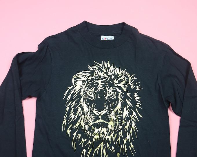 Gold Lion Reno Nevada 1990's Vintage Long Sleeve Tshirt