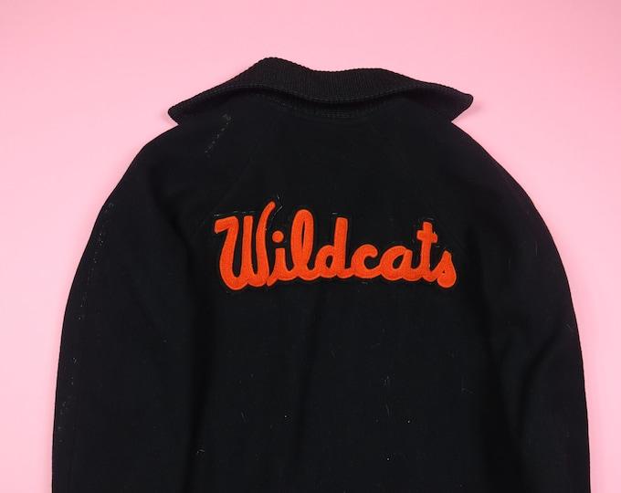 Wildcats Kay Wool 1982 Vintage Varsity Jacket