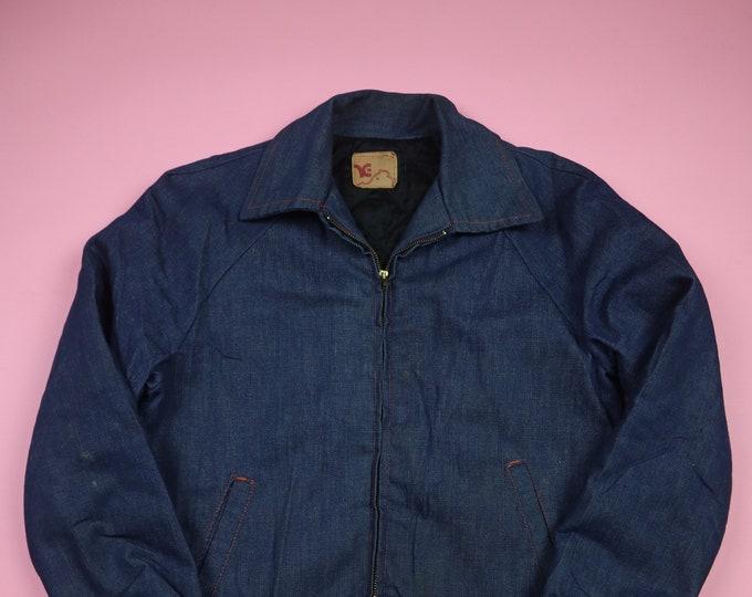 Work Denim Jacket Vintage Heavy Weight Denim Jacket