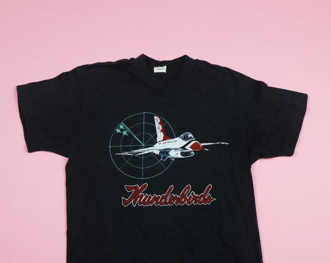 Jet Thunderbird  1990's Vintage Tshirt