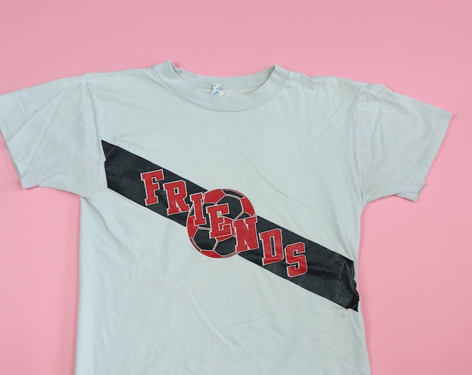 FRIENDS Soccer Champion brand 1990's Vintage Tshirt