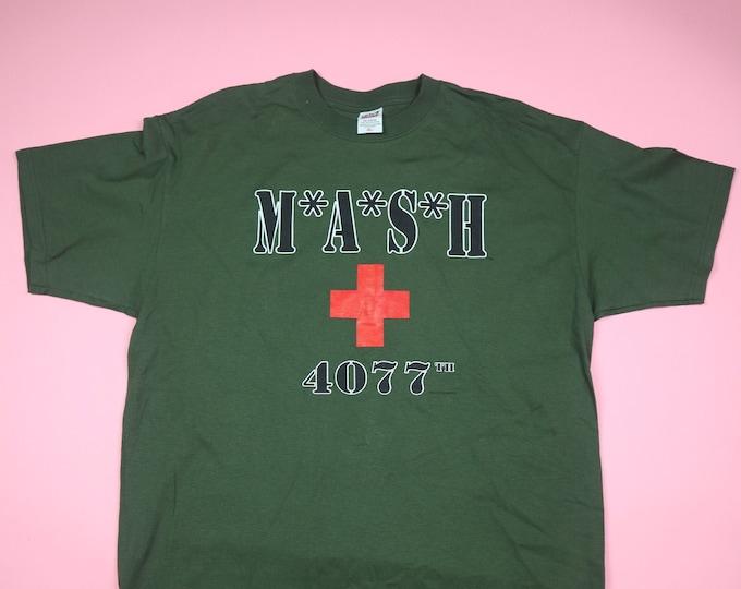 MASH army tv vintage tshirt