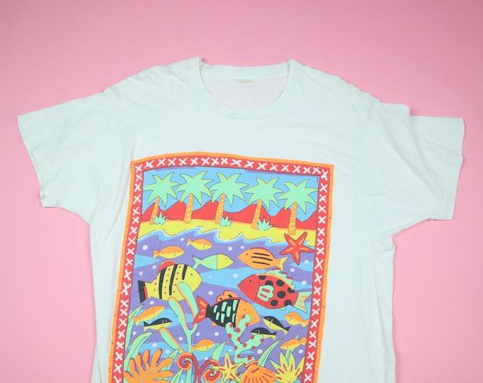 Under the Sea screen stars animal Vintage Tshirt