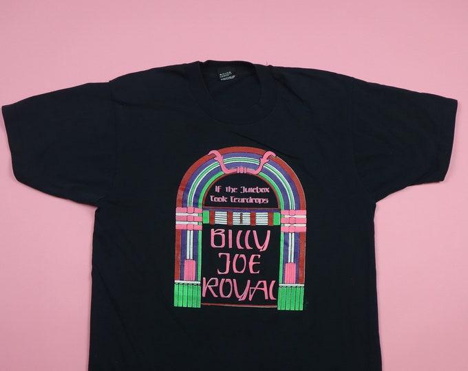 Billy Joe Royal If The Jukebox Took Teardrops 1980's Vintage Tshirt