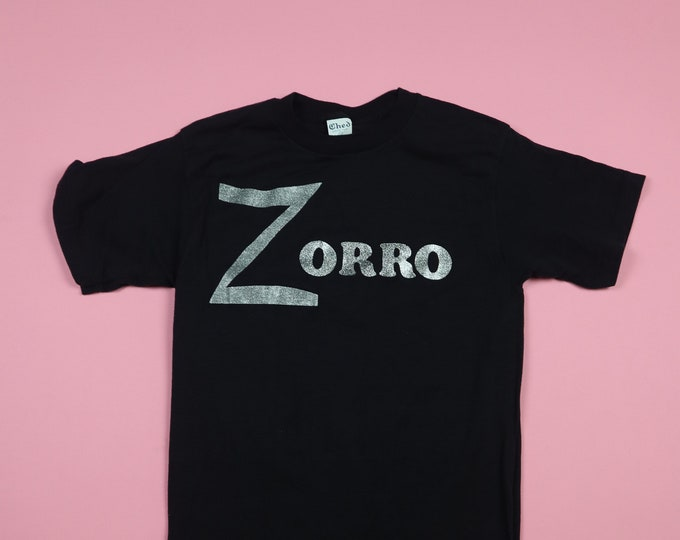 Zorro 1970's vintage Tshirt