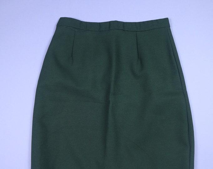 Dark Olive Green Patriot Army Vintage Skirt