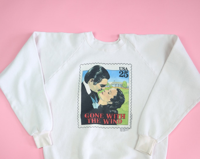 Gone With The Wind stamp USPS vintage sweatshirt