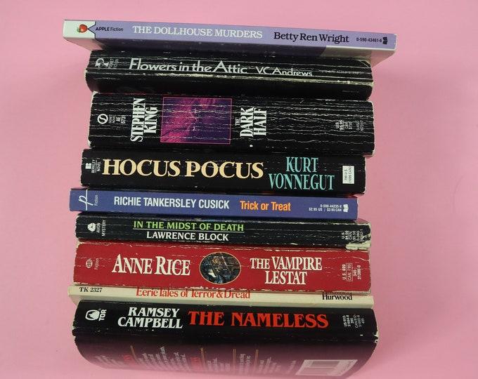 Choose One Or More! Horror Spooky Anne Rice Kurt Vonnegut Vintage Books