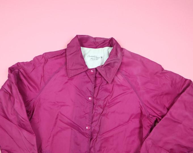 Current Seen Pink 1990's Vintage Windbreaker