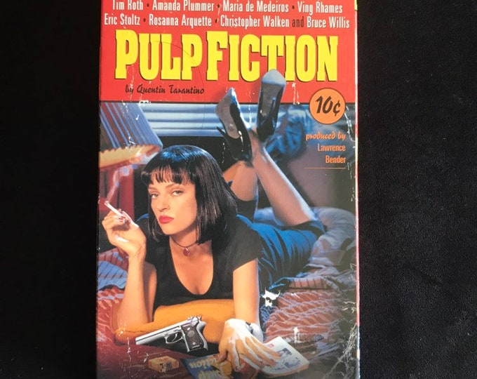 Pulp Fiction Vintage Movie VHS