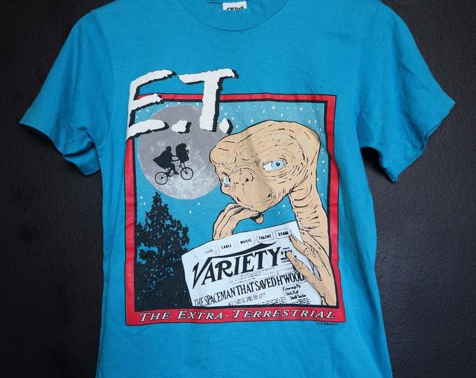 E.T. The Extra Terrestrial vintage Tshirt