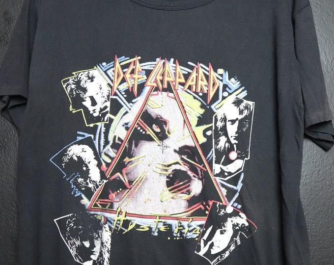 Def Leppard Hysteria 1980's vintage Tshirt