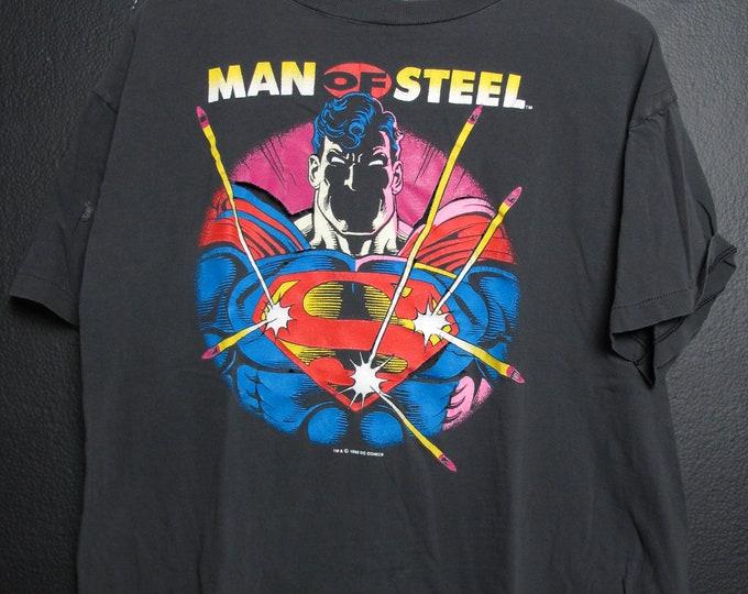 Superman DC comics 1992 Vintage Tshirt