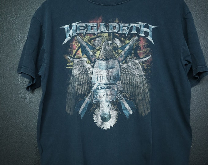 Megadeth Gigantour Tshirt