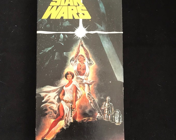 Star Wars Vintage Movie VHS