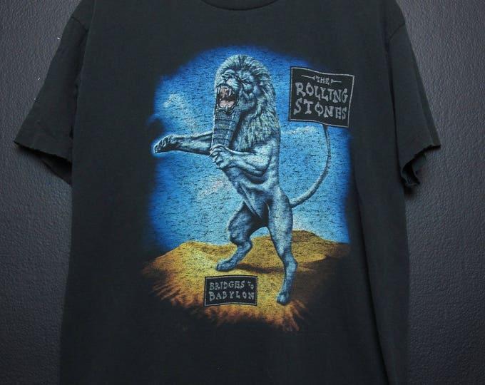 Rolling Stones Bridge to Babylon 1998 vintage Tshirt