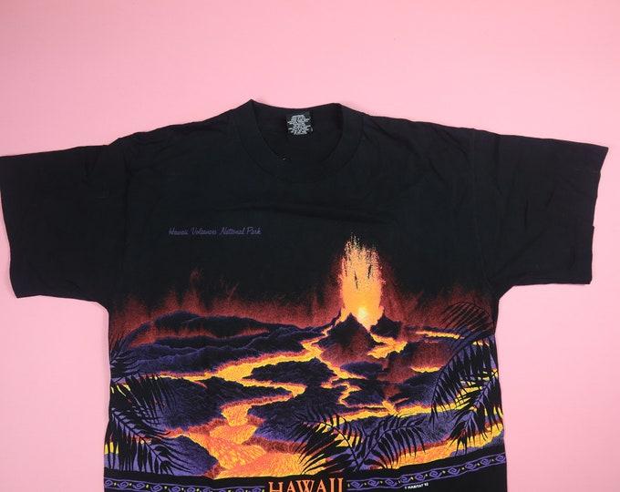 Hawaii Volcanoes National Park 1990s Vintage Tshirt
