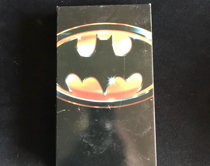 BATMAN 1980's Vintage Movie VHS