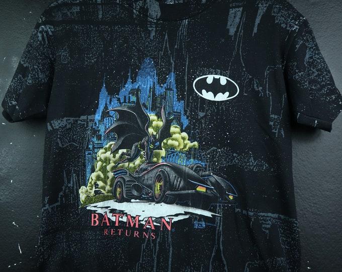 Batman Returns All Over Print 1992 vintage Tshirt