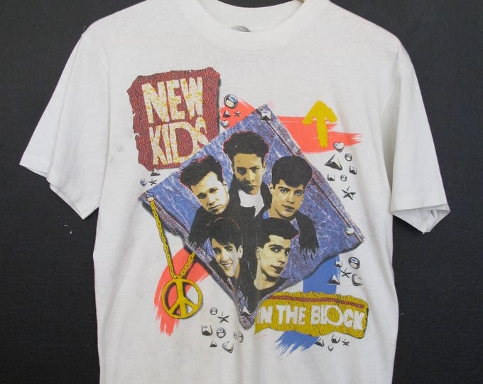New Kids On The Block 1990 vintage Tshirt