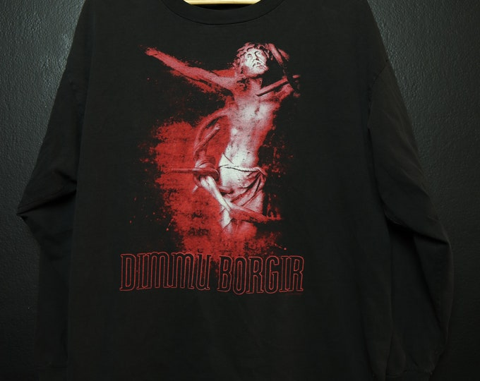 Dimmu Borgir Puritanical Euphoric Misanthropia Long Sleeve Shirt