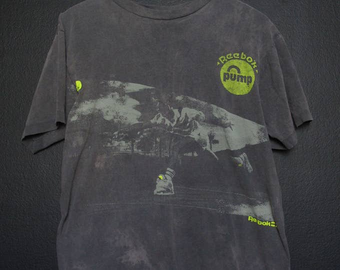Reebok Pump 1990's Vintage Tshirt