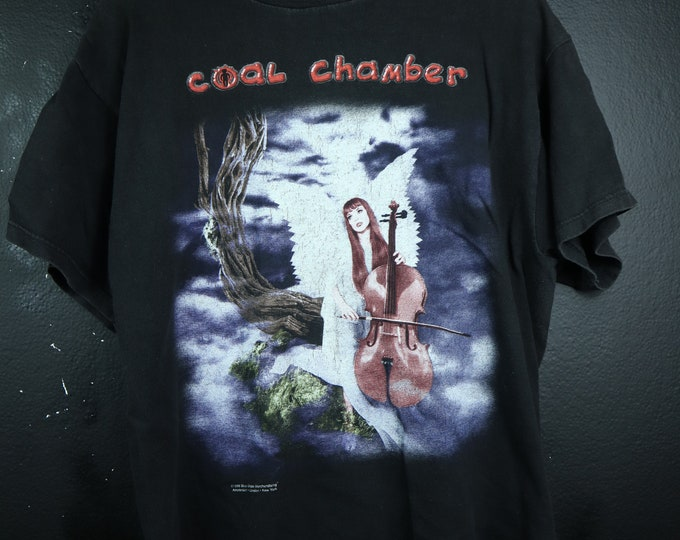 COAL CHAMBER Chamber Music 1990's Vintage Tshirt